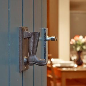 Cottage Entrance - Door handle detail