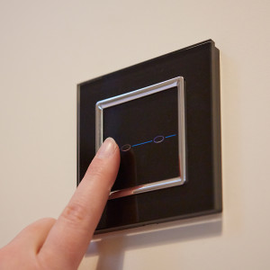 Remote control bedroom lights