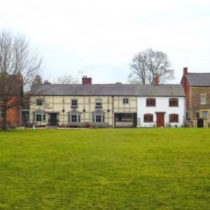 Kingsland village green and Angel pub